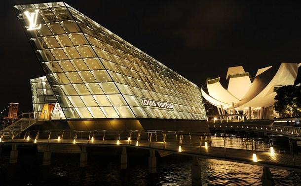 Concept store de Louis Vuitton en Marina Bay
