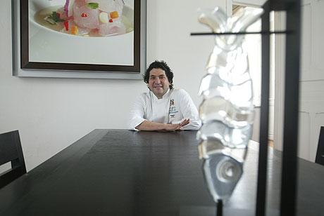 El chef peruano, Gastón Acurio.