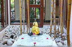 El Ananda Spa en el Himalaya conjuga yoga y meditación.
