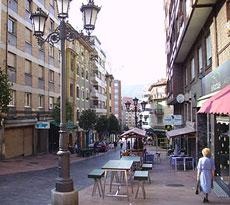 La Gascona, o calle de la Sidra.
