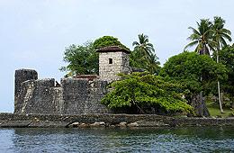 El lago Izabal fue destino de piratas y corsarios.