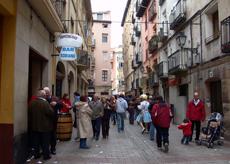 Calle Laurel.