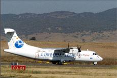 Avión ATR 42 de Flysur.
