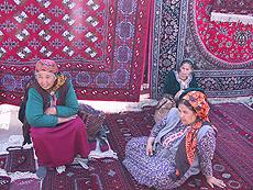 Mercado de alfombras.