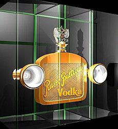 Imagen del vodka Russo Baltique.