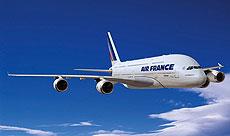Uno de los aviones de Air France.