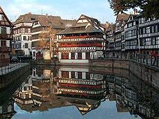 Los canales de Estrasburgo.