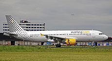 Uno de los aviones de Vueling.