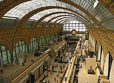 Interior del Museo D'Orsay.
