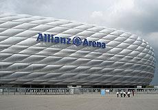El estadio Allianz Arena.