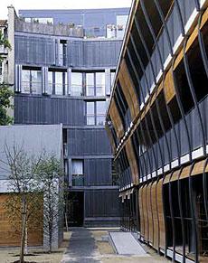 Edificio de la rue des Suisses.