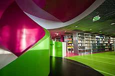 El Centro Multimedia de la Universidad Técnica de Cottbus.