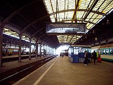 La estación de Wroclaw.