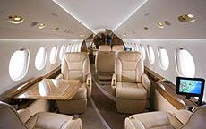 Primera clase de un vuelo.