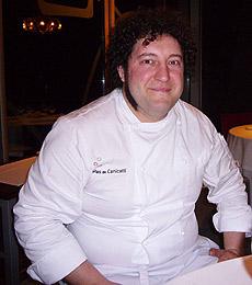 López, el cocinero.