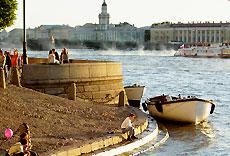 Río Neva, Rusia