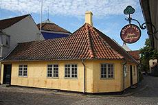 Casa de Andersen en Odense (Dinamarca).
