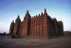 Mezquita en Tombuctú.