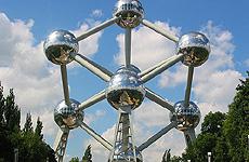 El Atomium de Bruselas.