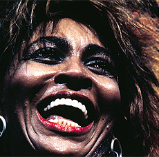 Tina Turner, Universal Amphitheater, Los Angeles (detalle), October 1985. © Henry Diltz.