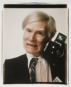 Andy Warhol fue un entusiasta seguidor de la Polaroid.
