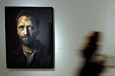 Uno de los retratos de la muestra. FOTO: ALFREDO MERINO