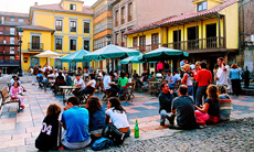 Plaza del Carbayo.