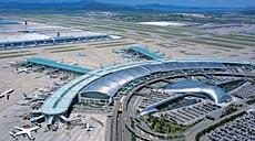 Aeropuerto de Incheon en Seúl.