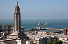 Havre y el estuario del Sena.