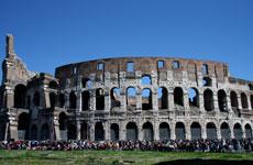 El eterno Coliseo romano.