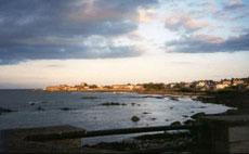 La playa de Sandycove.