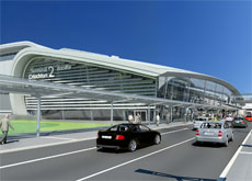 La nueva terminal futurista de Pascall + Watson.