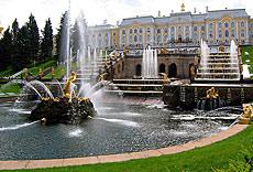 Palacio de Peterhof.