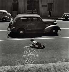 El artista vive peligrosamente, San Francisco, 1938.