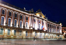 La plaza del Capitole.