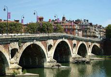 El Pont-Neuf de Toulouse.