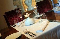 El 'Wine Restaurant' del hotel Mulini.
