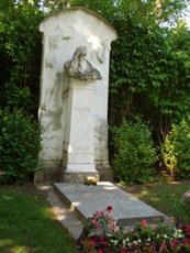 La tumba de Brahms.