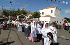 Fiestas populares de la isla.