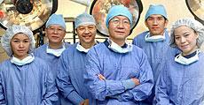 Equipo médico del hospital Bumrumgrad en Bangkok.