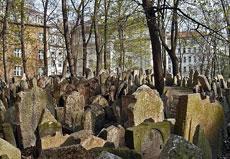 El cementerio judío.