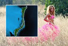La isla de Shakira.