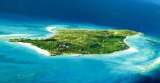 Una de las islas de Richard Brandson.