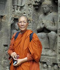 La monja budista Dhammananda.
