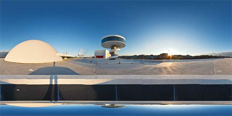 El Centro Niemeyer de Avilés en 360º