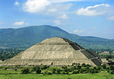 La Pirámide del Sol.